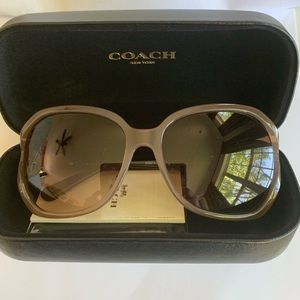 New Coach Sunglasses with case